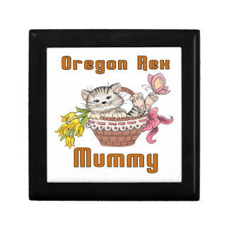 Oregon Rex Cat Mom Gift Box