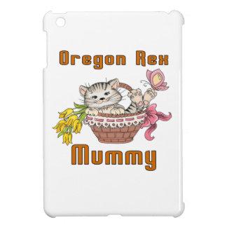 Oregon Rex Cat Mom iPad Mini Cover