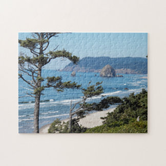 Oregon Seascape Photo Jigsaw Puzzle