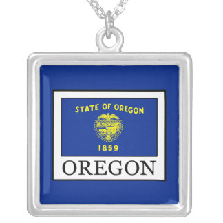 Oregon Silver Plated Necklace