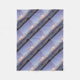 Oregon Skies Fleece Blanket