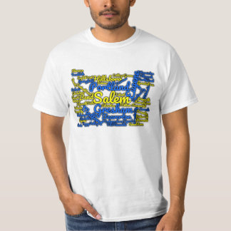 Oregon State Cities T-shirt