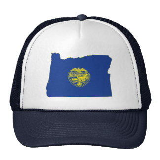 Oregon State Flag and Map Hat