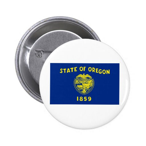 Oregon State Flag Pins