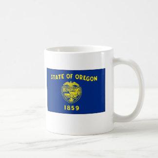 Oregon State Flag Basic White Mug