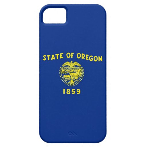 Oregon State Flag iPhone 5 Cases