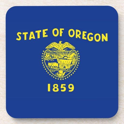 Oregon State Flag Coasters