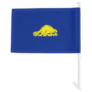 Oregon State Flag Design Car Flag