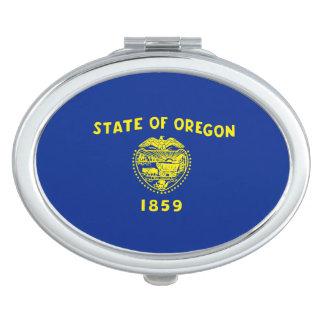 Oregon State Flag Design Compact Mirror