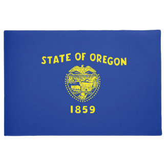 Oregon State Flag Design Doormat