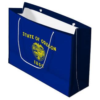 Oregon State Flag Design Large Gift Bag