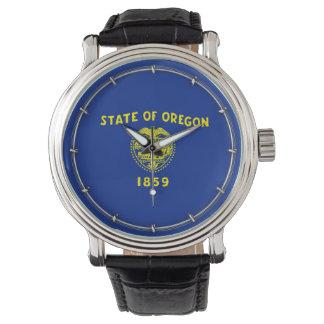 Oregon State Flag Design Wristwatch