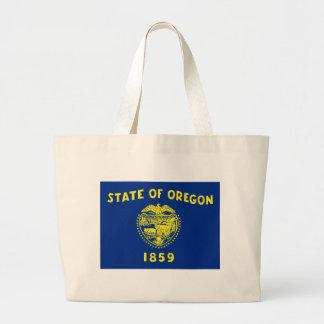 Oregon State Flag Jumbo Tote Bag