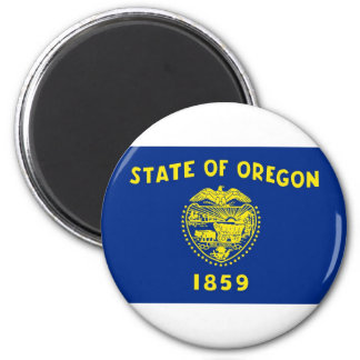 Oregon State Flag Fridge Magnets