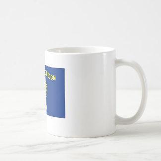 Oregon State Flag Coffee Mugs