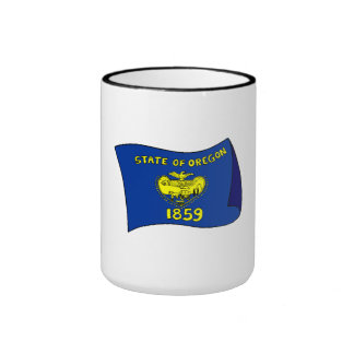 Oregon State Flag Mugs