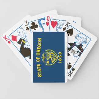 Oregon State Flag Playing Cards