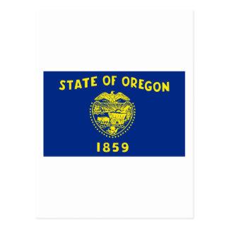 Oregon State Flag Postcard
