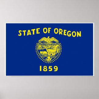 Oregon State Flag Poster