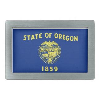 Oregon State Flag Rectangular Belt Buckles