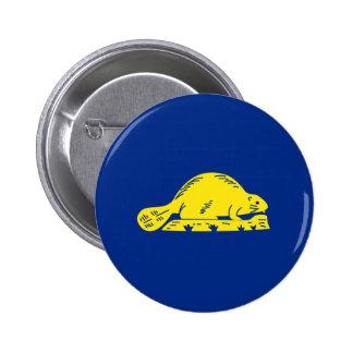 Oregon State Flag (reverse) Pins