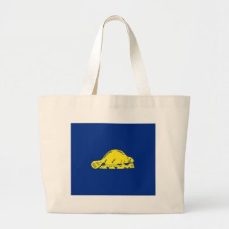 Oregon State Flag (reverse) Tote Bags