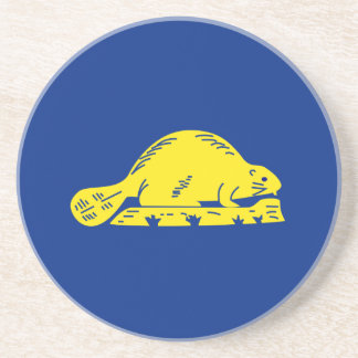 Oregon State Flag (reverse) Coasters