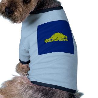 Oregon State Flag (reverse) Dog T Shirt