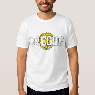Oregon State Flag T Shirts