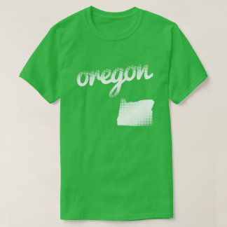 Oregon state in white T-Shirt