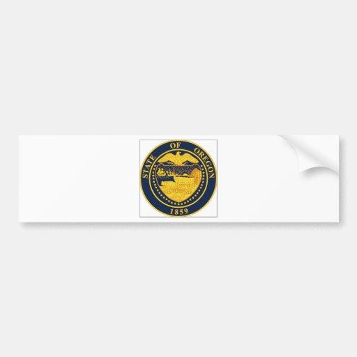 Oregon State Seal Bumper Stickers