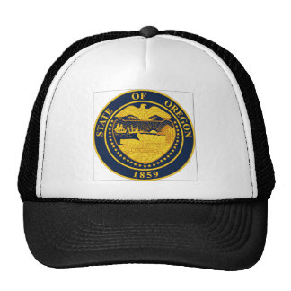 Oregon State Seal Cap
