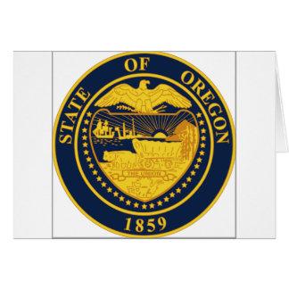 Oregon State Seal Card