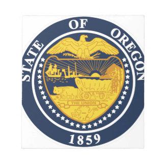 Oregon State Seal Notepad