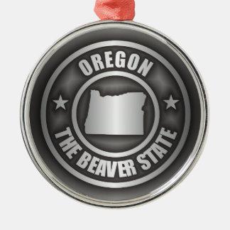 Oregon Steel Metal Ornament