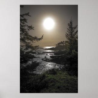 Oregon Sunset 3 Poster