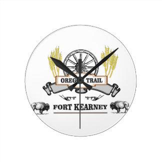 oregon trail fort kearney yeah! round clock