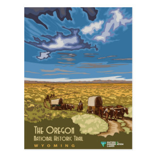 Oregon Trail Postcard