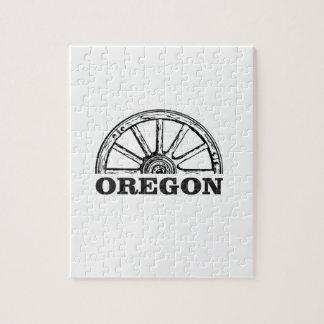 oregon trail simple wheel jigsaw puzzle