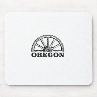 oregon trail simple wheel mouse pad