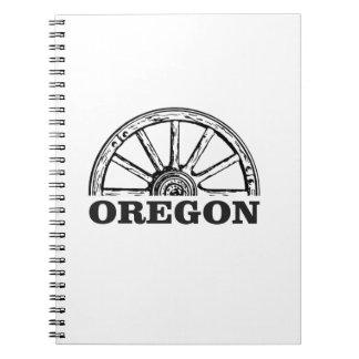 oregon trail simple wheel notebooks
