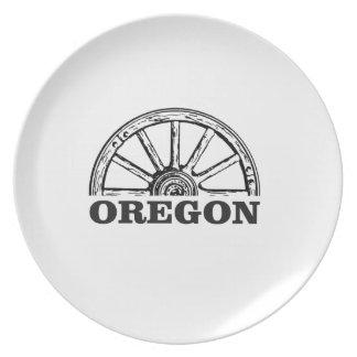 oregon trail simple wheel plate