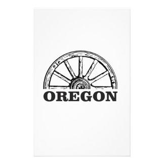 oregon trail simple wheel stationery