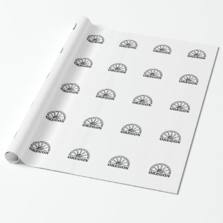 oregon trail simple wheel wrapping paper