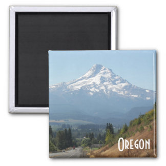 Oregon Travel Photo Square Magnet