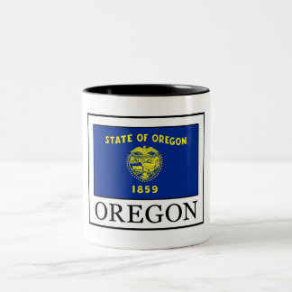 Oregon Two-Tone Coffee Mug