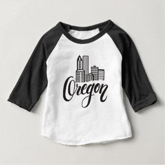 Oregon Typography Design Baby T-Shirt