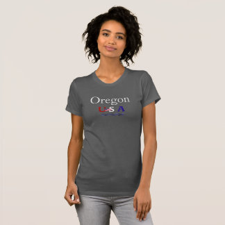 Oregon USA -- T-shirt