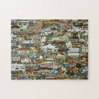 Oregon & Washington Collage Jigsaw Puzzle