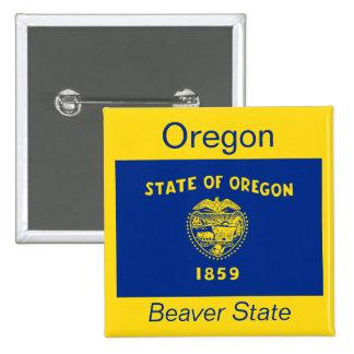 Oregonian Flag Button